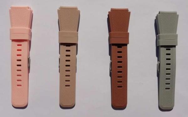 Bratara de schimb din silicon cu striatii pentru Xiaomi Huami Amazfit GTR 42mm, diferite colorituri, confortabila si rezistenta 12