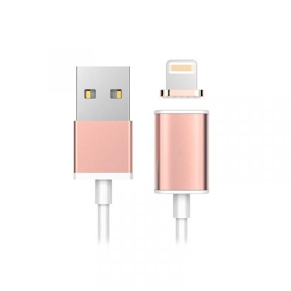 Cablu magnetic USB la alegere Tip C, Micro USB, Lightning (Iphone), pentru incarcare si transfer date 4