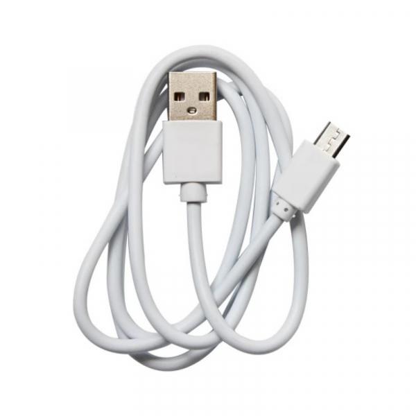 Cablu de alimentare original Micro-USB Alb pentru Oukitel WP6 WP6 Lite imagine
