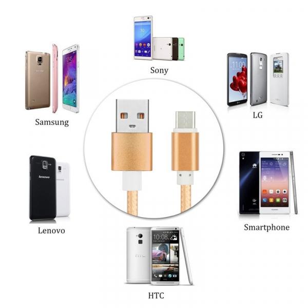 Cablu USB Tip C pentru smartphone, tablet Peston 7