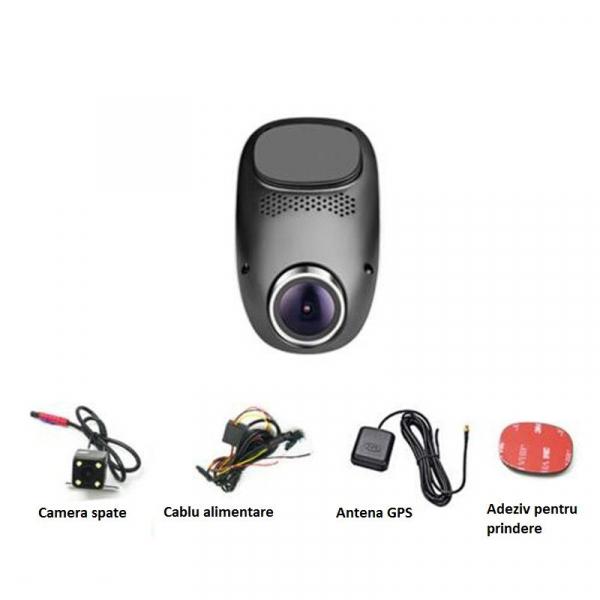Camera Auto Dash, Cam Star e05, Full HD,  140 grade, MTK 6735 1.3GHz, 512 MB RAM, 4 GB ROM 5