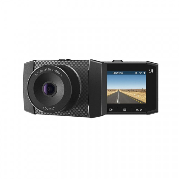 Camera Auto DVR Xiaomi YI Ultra Dash 2.7 K, Wireless, Slot Card, Suport parbriz cu ventuza, Dual Core 0
