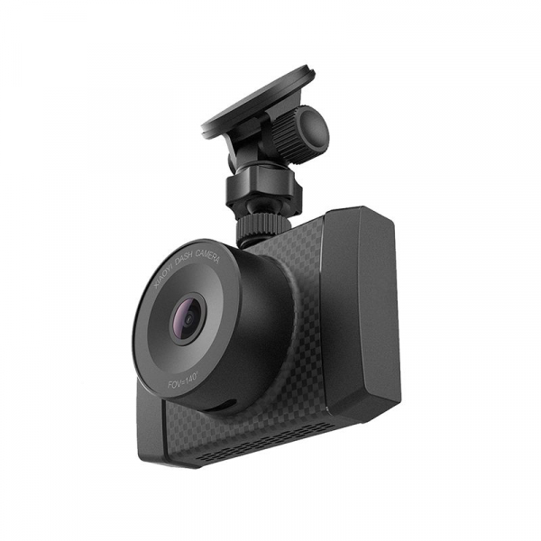 Camera Auto DVR Xiaomi YI Ultra Dash 2.7 K, Wireless, Slot Card, Suport parbriz cu ventuza, Dual Core 3