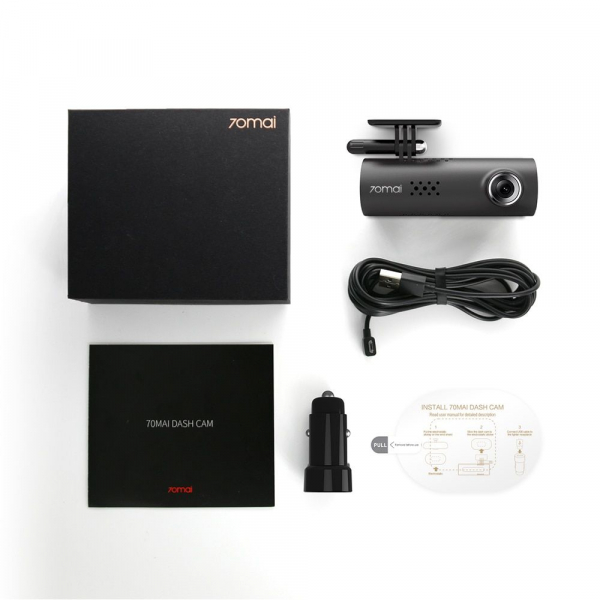 Camera auto Xiaomi 70Mai  D01 Smart Dash Cam 1080HD, Night Vision, Wifi, Inregistrare 130 grade, G-Sensor 4