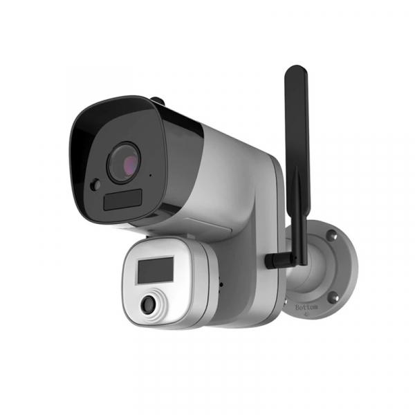 Camera de supraveghere wireless cu senzor termic STAR Y3-TB01, 2MP, 1080P FHD, Wi-Fi, Standalone, Baterie reincarcabila, Slot memorie 1