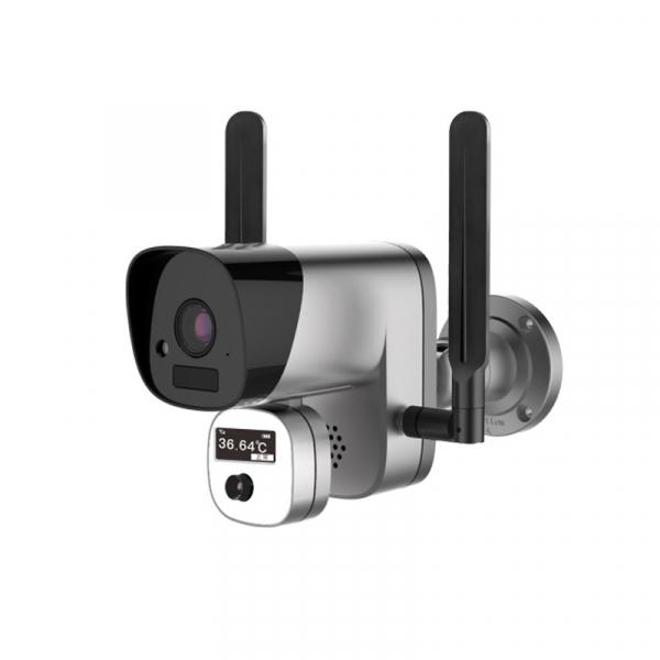 Camera de supraveghere wireless cu senzor termic STAR Y3-TB01, 2MP, 1080P FHD, Wi-Fi, Standalone, Baterie reincarcabila, Slot memorie 0