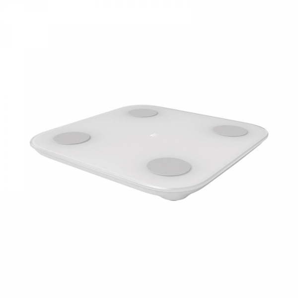 Cantar smart Xiaomi Mi Body Composition 2, Ultra-subtire, Ecran LED ascuns, Masurare 13 date corporale, Bluetooth 3