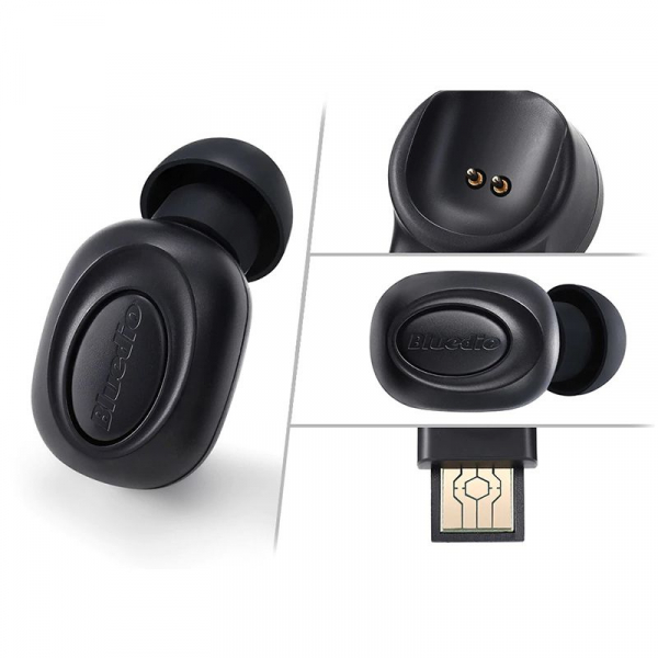 Casca Bluetooth Bluedio Talking (T), Bluetooth, Raspuns apeluri, Microfon, Cloud Service, Control Voce, Control Aplicatie [1]