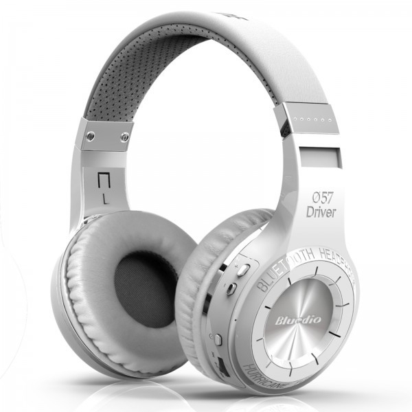 Casti Bluetooth Bluedio H+ Bluetooth 4.1, Wireless, Stereo, microfon incorporat, microSD, FM imagine dualstore.ro 2021