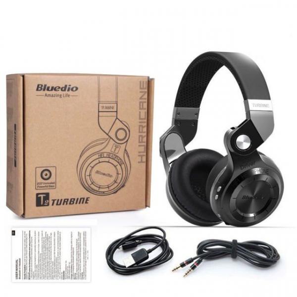 Casti Bluetooth Bluedio T2 Bluetooth 4.1, Wireless, Stereo, microfon incorporat 8