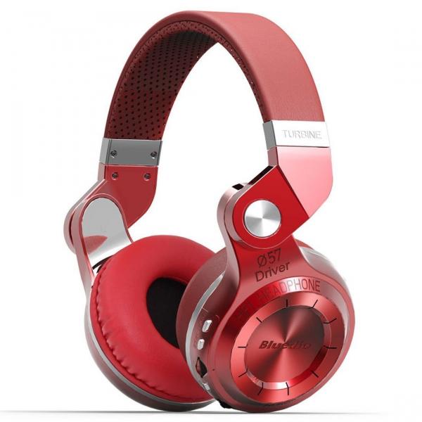 Casti Bluetooth Bluedio T2+ Bluetooth 4.1, Wireless, Stereo, microfon incorporat, microSD, FM imagine