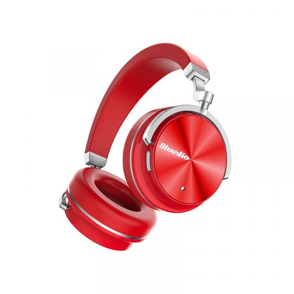 Casti Bluetooth Bluedio T4 Bluetooth 4.2, Wireless, Stereo, microfon incorporat, active noise cancellation, usb tip C imagine