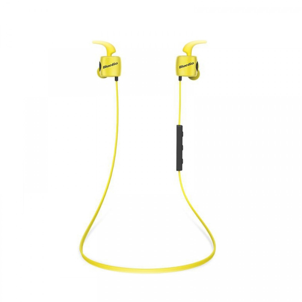Casti Bluetooth Bluedio TE Sport, Fara fir, In-Ear, HandsFree, Rezistenta la transpiratie, Comanda multifunctionala imagine
