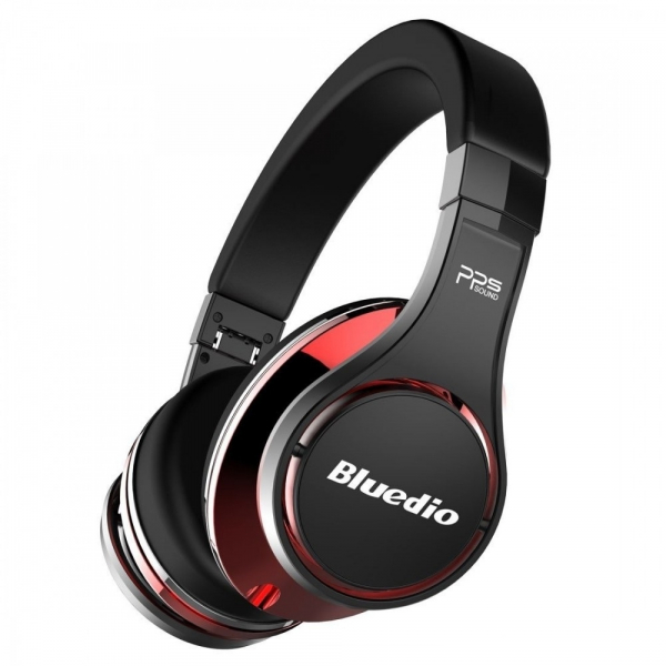 Casti Bluetooth Bluedio U (UFO), 8 difuzoare, Wireless Headphones Over-Ear PPS  Cu Microfon, anularea zgomotelor 1