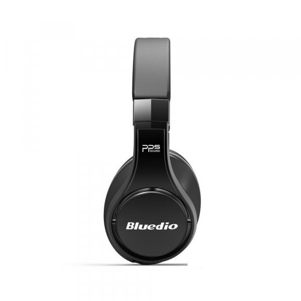 Casti Bluetooth Bluedio U (UFO), 8 difuzoare, Wireless Headphones Over-Ear PPS  Cu Microfon, anularea zgomotelor 4