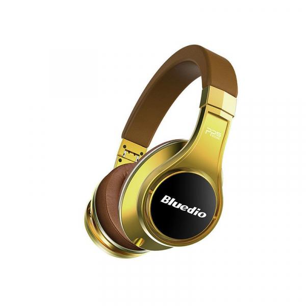 Casti Bluetooth Bluedio U (UFO), 8 difuzoare, Wireless Headphones Over-Ear PPS Cu Microfon, anularea zgomotelor imagine dualstore.ro 2021