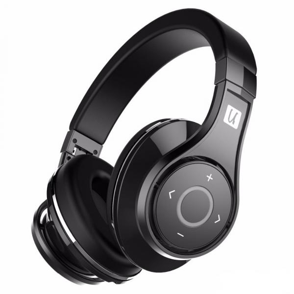 Casti Bluetooth Bluedio U (UFO), 8 difuzoare, Wireless Headphones Over-Ear PPS  Cu Microfon, anularea zgomotelor 5