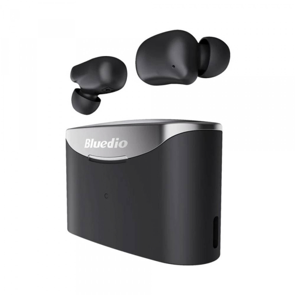Casti in-ear Bluedio T-Elf 2 TWS cu cutie de incarcare de 650mAh, Touch control, Bluetooth 5.0, Watreproof IPX6 2