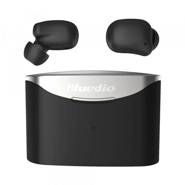 Casti in-ear Bluedio T-Elf 2 TWS cu cutie de incarcare de 650mAh, Touch control, Bluetooth 5.0, Watreproof IPX6 imagine