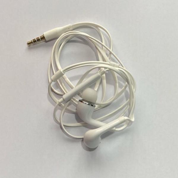 Casti in-ear, tip dop, pentru telefon, albe 1