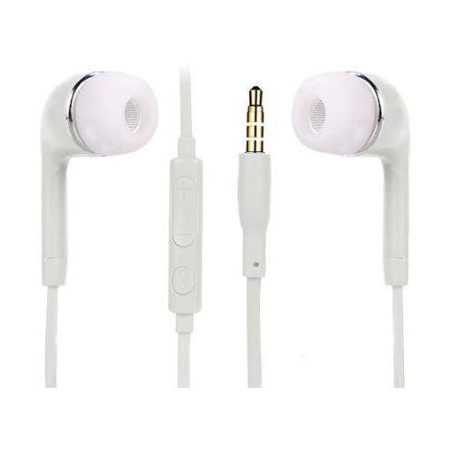 Casti in-ear, tip dop, pentru telefon, albe imagine dualstore.ro 2021