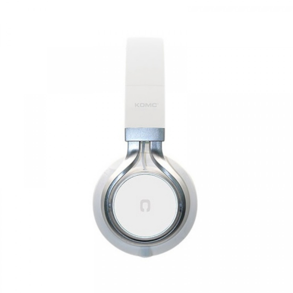 Casti over-ear cu fir KOMC S30 Alb, 108dB, Microfon pe fir 1