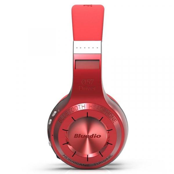 Casti Wireless Bluedio HT, Bluetooth, Stereo, Microfon, Raspuns apeluri, Pliabile, Aux 9