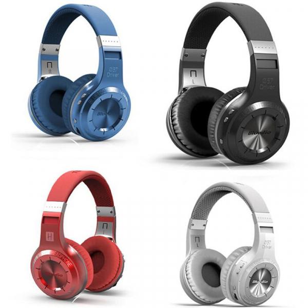 Casti Wireless Bluedio HT, Bluetooth, Stereo, Microfon, Raspuns apeluri, Pliabile, Aux 0