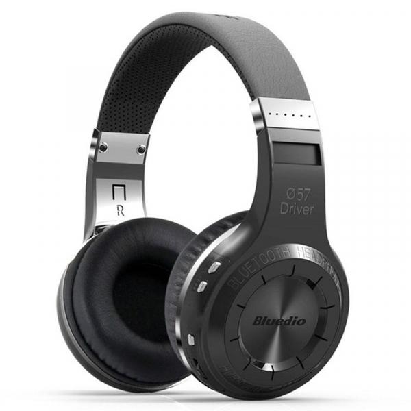 Casti Wireless Bluedio HT, Bluetooth, Stereo, Microfon, Raspuns apeluri, Pliabile, Aux 6