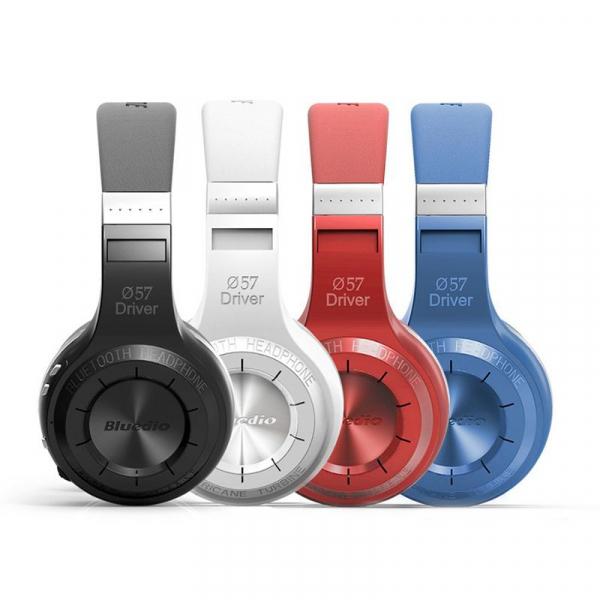 Casti Wireless Bluedio HT, Bluetooth, Stereo, Microfon, Raspuns apeluri, Pliabile, Aux 1