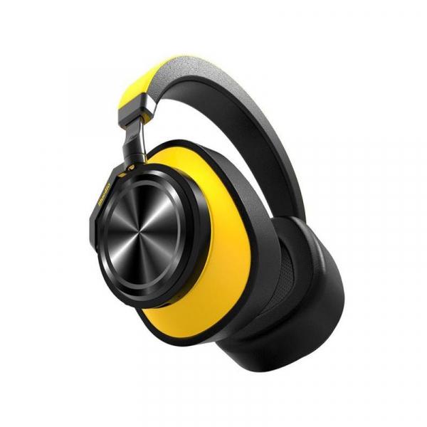 Casti Wireless Bluedio T6 Stereo, Bass HiFi, Anularea zgomotelor, USB Tip C, Bluetooth, Microfon, Handsfree, Control Volum imagine