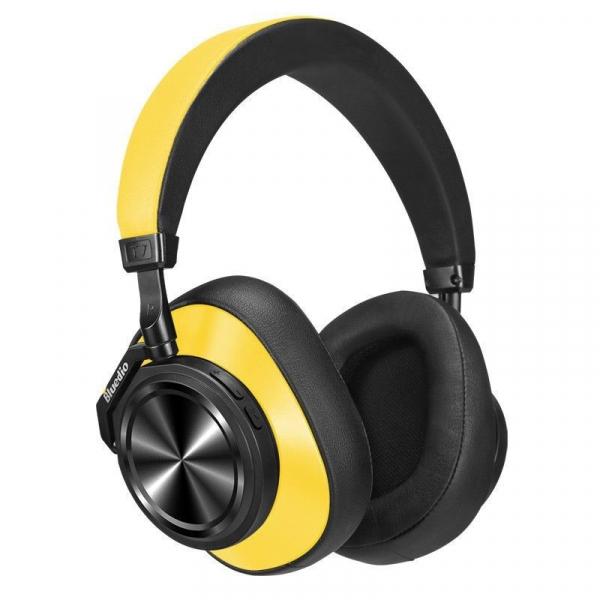 Casti Wireless Bluedio T7 Stereo, Bass Hi Fi, Anularea zgomotelor, USB Tip C, Bluetooth, Microfon, Handsfree, Control Volum 6