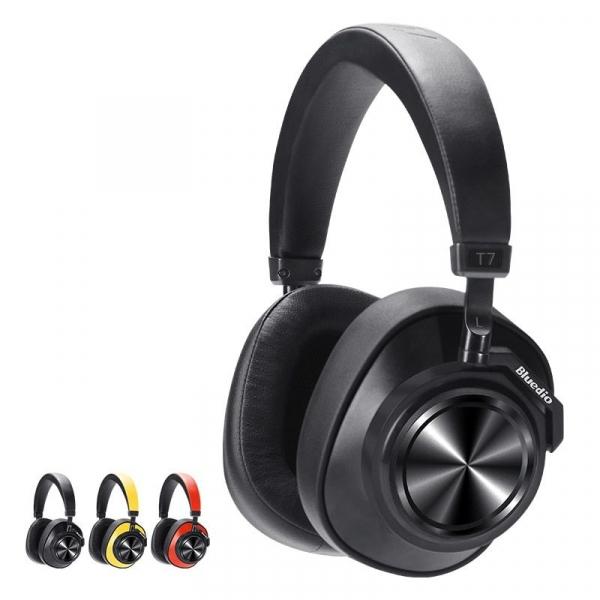 Casti Wireless Bluedio T7 Stereo, Bass Hi Fi, Anularea zgomotelor, USB Tip C, Bluetooth, Microfon, Handsfree, Control Volum 0