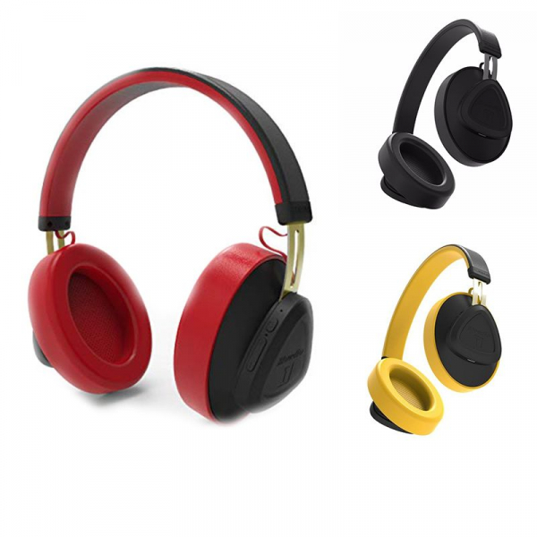 Casti Wireless Bluedio TM Stereo, Bluetooth, Anularea zgomotului, Handsfree, Microfon, Conectare multipla, Control Vocal 0