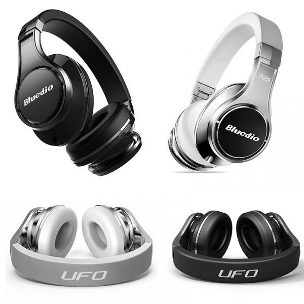 Casti Wireless Bluedio U2 (UFO 2) Stereo, 8 Difuzoare, Bluetooth, Control Vocal, Microfon, Handsfree, Aux, Cloud Service 0