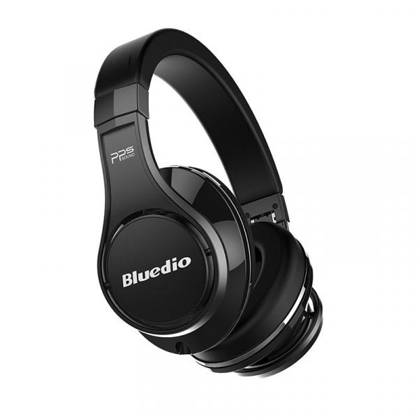 Casti Wireless Bluedio U2 (UFO 2) Stereo, 8 Difuzoare, Bluetooth, Control Vocal, Microfon, Handsfree, Aux, Cloud Service 3