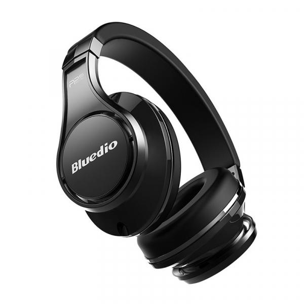 Casti Wireless Bluedio U2 (UFO 2) Stereo, 8 Difuzoare, Bluetooth, Control Vocal, Microfon, Handsfree, Aux, Cloud Service 1
