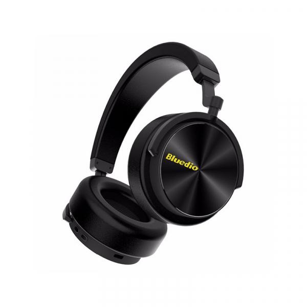 Casti Wireless Stereo Bluedio T5, Anularea zgomotelor, Tip C, Bluetooth, Microfon, Extra Bass 4