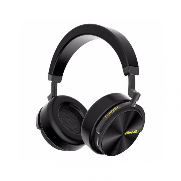 Casti Wireless Stereo Bluedio T5, Anularea zgomotelor, Tip C, Bluetooth, Microfon, Extra Bass imagine