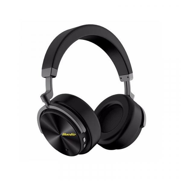 Casti Wireless Stereo Bluedio T5, Anularea zgomotelor, Tip C, Bluetooth, Microfon, Extra Bass 3