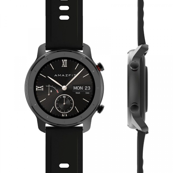 Smartwatch Xiaomi Huami Amazfit GTR, 1.2 inch, 42 mm, Amoled, GPS, 5ATM Waterproof, Bluetooth 5.0, 195 mAh, Global 2