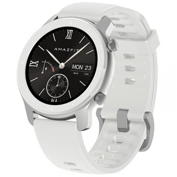 Smartwatch Xiaomi Huami Amazfit GTR Alb, 1.2 inch, 42 mm, Amoled, GPS, 5ATM Waterproof, Bluetooth 5.0, 195 mAh, Global, Resigilat 0