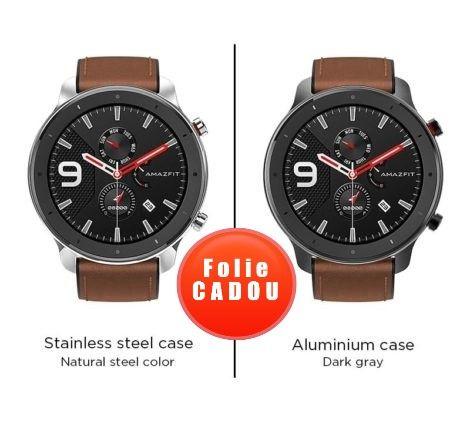 Smartwatch Xiaomi Huami Amazfit GTR, 1.39inch, 47mm, AMOLED, GPS, Waterproof 5ATM, Bluetooth 5.0, 410 mAh 3