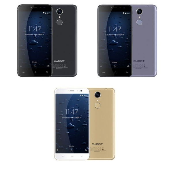 Telefon mobil Cubot Note Plus, 4G, 5.2 inch FHD Screen, MT6737T QuadCore, 3GB RAM, 32GB ROM, Android 7.0, 2800mAh, Finger ID, Dual SIM 0