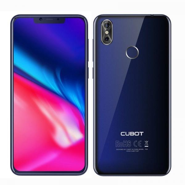 Telefon mobil Cubot P20, Android 8.0, 4GB RAM, 64GB ROM, 6.18 inch, MT6750T OctaCore, 4000mAh,Dual SIM, Amprenta 2