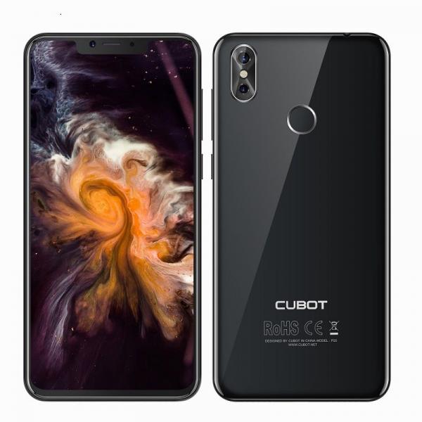 Telefon mobil Cubot P20, Android 8.0, 4GB RAM, 64GB ROM, 6.18 inch, MT6750T OctaCore, 4000mAh,Dual SIM, Amprenta 3