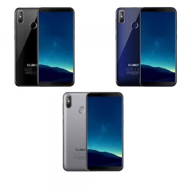 Telefon mobil Cubot R11, Android 8.1, 5.5 inch HD, MT6580 QuadCore, 2GB RAM, 16GB ROM, 2800mAh, Amprenta, Dual SIM 0