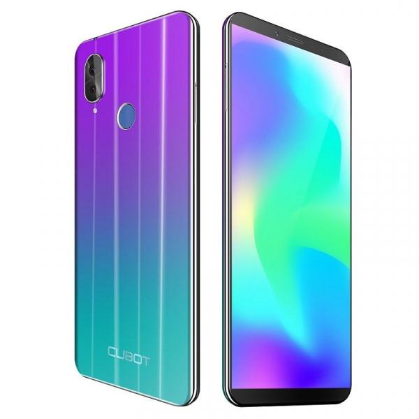 Telefon mobil Cubot X19, 4G, Helio P23 OctaCore, 4GB RAM, 64GB ROM, 5.93 inch FHD, Android 8.1, 4000mAh, Face ID, Dual SIM 4