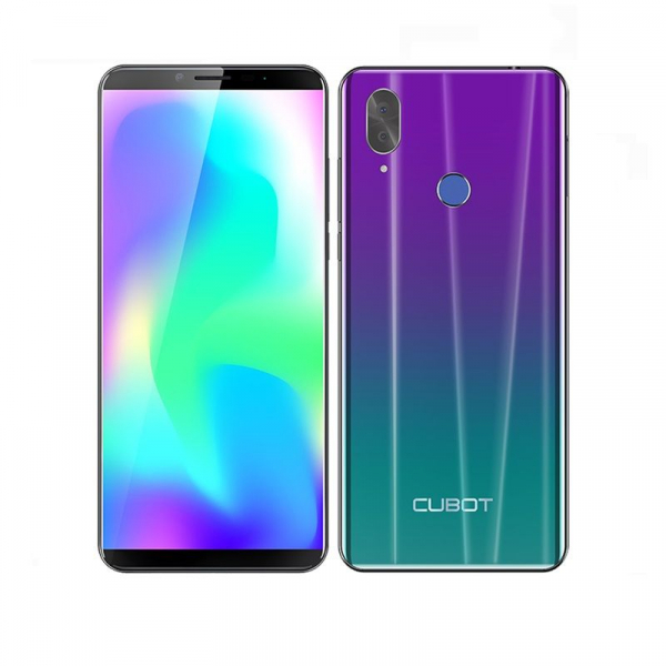 Telefon mobil Cubot X19, 4G, Helio P23 OctaCore, 4GB RAM, 64GB ROM, 5.93 inch FHD, Android 8.1, 4000mAh, Face ID, Dual SIM 2