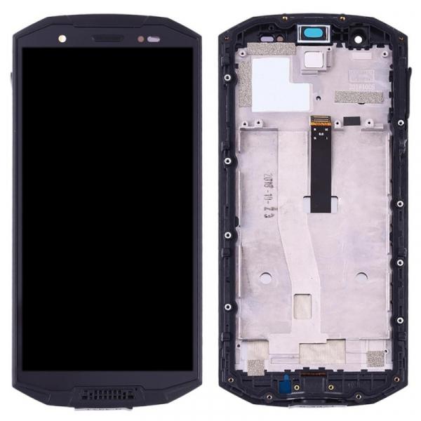 Display OGS original pentru Doogee S70 S70 Lite cu rama Negru imagine dualstore.ro 2021